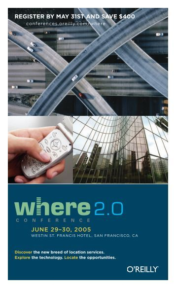 JUNE 29–30, 2005 REGISTER BY MAY 31ST AND SAVE $400