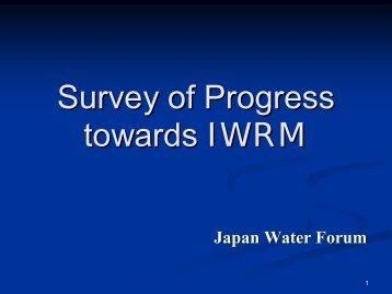 Survey of Progress towards IWRM