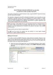systm one electronic advice services.pdf - Bradfordvts
