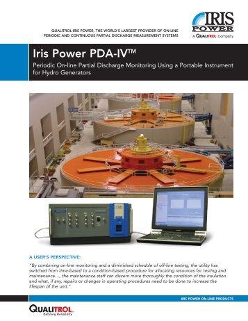 Iris Power PDA-IV - Iris Power Engineering