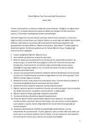 Yüksek Öğretim Yasa Tasarısıyla İlgili Düşüncelerim Kasım 2012 ...