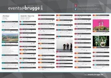 September Dag na dag - Stad Brugge