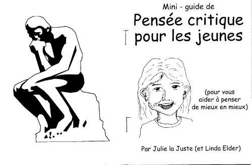 Mini-guide de Pensée critique pour les jeunes - The Critical ...