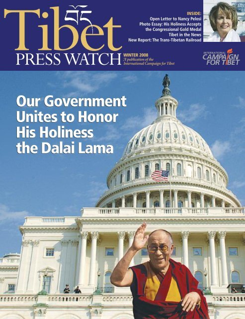 2008 Winter 2 TPW - International Campaign for Tibet