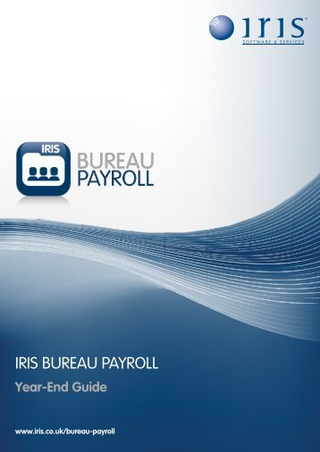 Year-End Guide - Payroll Software - IRIS Software
