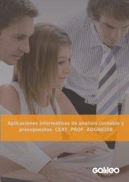 GO3135 Aplicaciones informáticas de análisis contable y ...