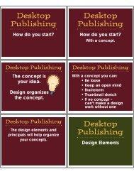 Desktop Publishing Desktop Publishing Desktop Publishing