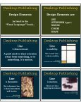 Desktop Publishing Desktop Publishing Desktop Publishing - Page 2