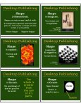 Desktop Publishing Desktop Publishing Desktop Publishing - Page 5