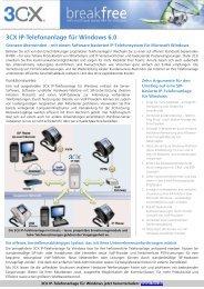 3CX IP-Telefonanlage für Windows 6.0