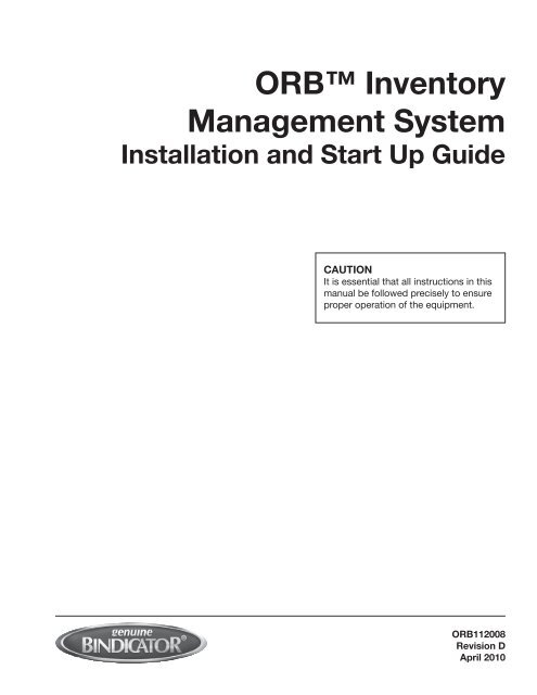 manual inventory control system