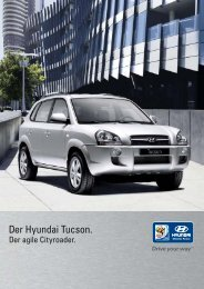 Der Hyundai Tucson.