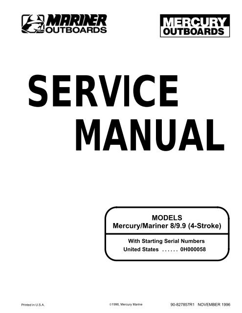 2 Stroke Mercury Outboard Wiring Diagram Schematic