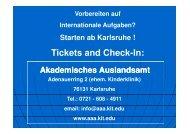 Vortrag Auslandsaufenthalt am 6.7.2010 - Fakultät für ...