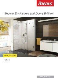Shower Enclosures and Doors Brilliant - Delta Studio