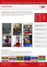 Produktübersicht - Mat-Master GmbH
