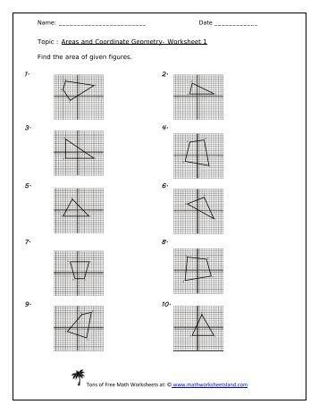 Coordinate Geometry Proofs Worksheet Five Pack - Math ...