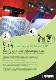 ™ Lampe de lecture à LED - Franklin
