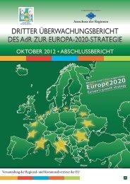 Dritte Überwachungsbericht des AdR zur Europa 2020-Strategie