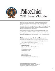 IAC 185 2011 Buyers' Guide_3.indd - Police Chief Magazine