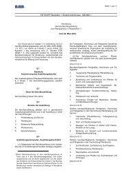 Berufsausbildungsverordnung Pferdewirt - Wir gestalten Berufsbildung