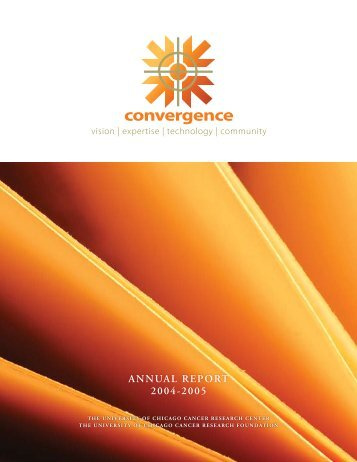 convergence - The University of Chicago Medicine Comprehensive ...