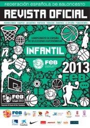 Revista Infantil - Federación Española de Baloncesto