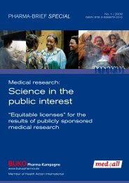 Medical Research: Science in the Public Interest. - What is BUKO ...