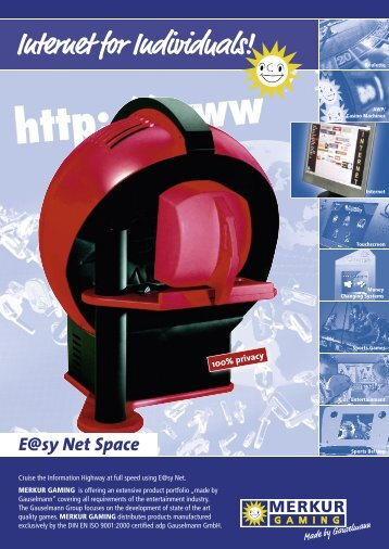 Internet for Individuals! E@sy Net Space - MEGA Web