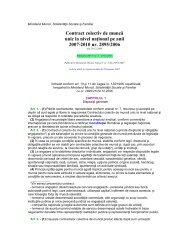 Contract colectiv de muncă la nivel național