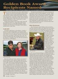 Golden Book Award Recipients - American Simmental Association