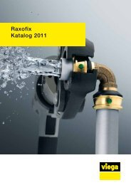 Raxofix Katalog 2011 - Viega