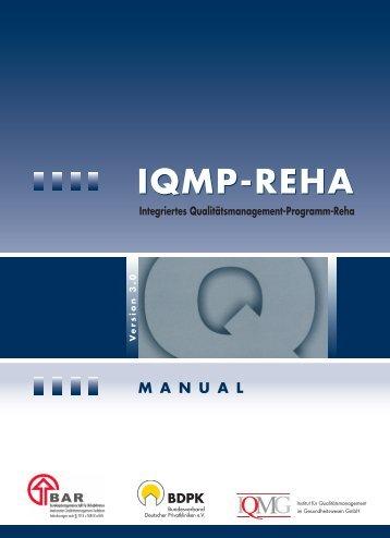 V. Ausführliche Systematik - IQMG Institut für Qualitätsmanagement ...