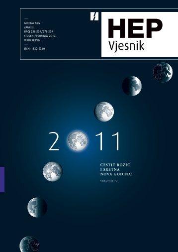Broj 238/239 studeni/prosinac 2010. - HEP Grupa