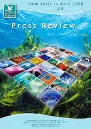 Press review - BiotechMarine