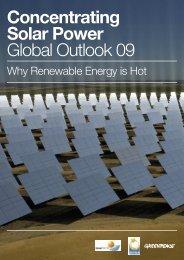 Concentrating Solar Power Global Outlook 09 - estela