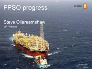 FPSO progress - BG Group