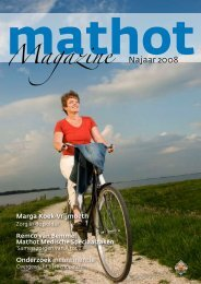 Nieuw magazine - Mathot