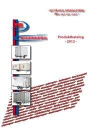 Produktkatalog - 2012 - - Anleggsprodukter AS