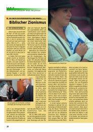 Biblischer Zionismus