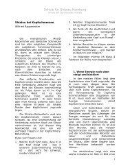 Shiatsu bei Kopfschmerzen von Wilfried Rappenecker - Shiatsu-Netz