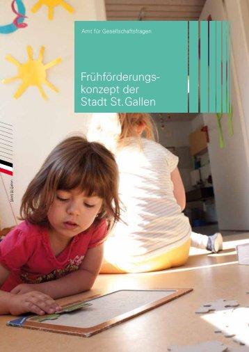 Frühförderungskonzept der Stadt St.Gallen (544 kB, PDF)