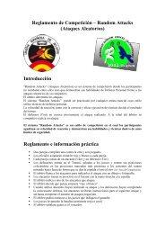 Reglamento Random Attacks - Federación Española A. de Jiu Jitsu ...