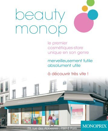 Beauty Monop oct05.qxp - Groupe Galeries Lafayette