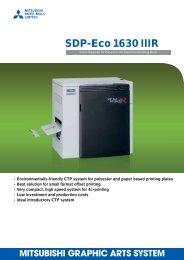 SDP-Eco 1630 IIIR - Mitsubishi Paper