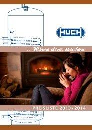 Bruttopreisliste 2013/2014 - Huch