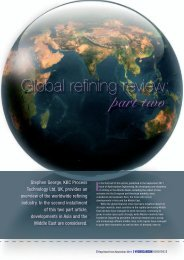 Global Refining Review Part II - KBC