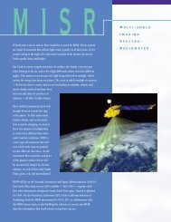 1423 MISR for PDF3 - NASA's Earth Observing System
