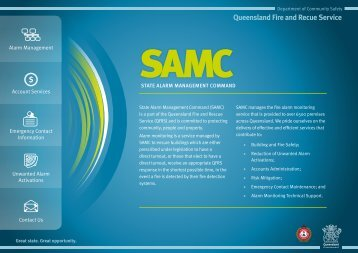 Alarm Monitoring - Queensland Fire and Rescue Service