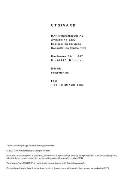 Elektriska och elektroniska gränssnitt TG - MANTED